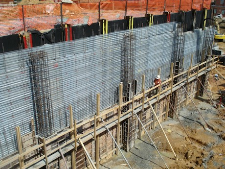 Steel Ply concrete forming system