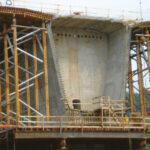 Bridge forming, forming concrete walls with plywood, concrete form systems