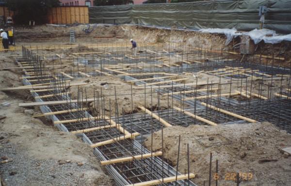 grade beam, form board for concrete, concrete forms