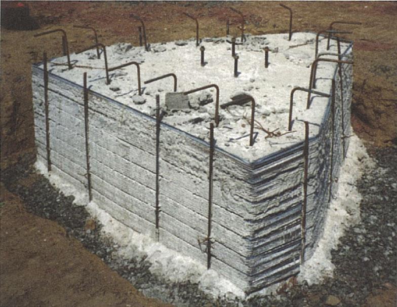 Pile caps, design pile cap, forms for concrete