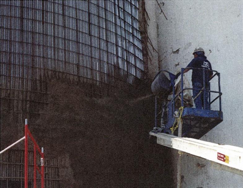 shotcrete, shotcrete companies, sprayed concrete