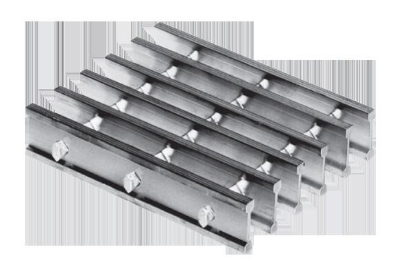 Aluminum Swage Locked Bar Grating