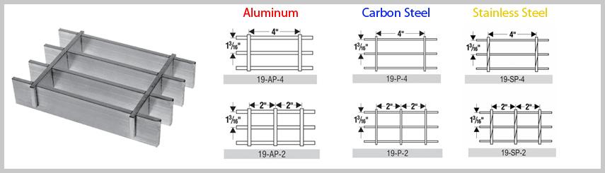 """press locked grating"",""bar grating stair treads"",""serrated bar grating"" 19space-bar2"