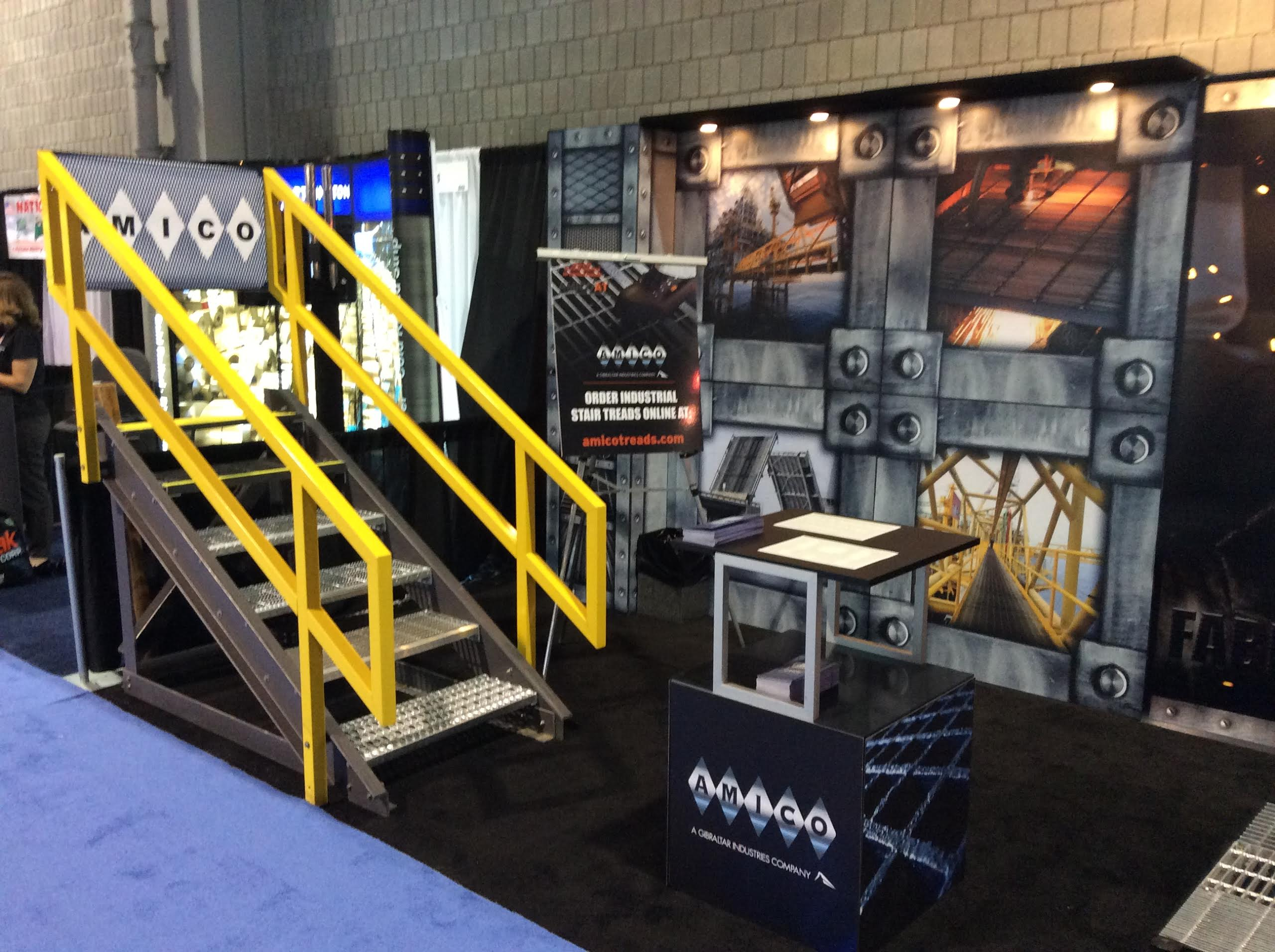 AMICO Has A Great Showing At 2014 FABTECH Expo • AMICO Products