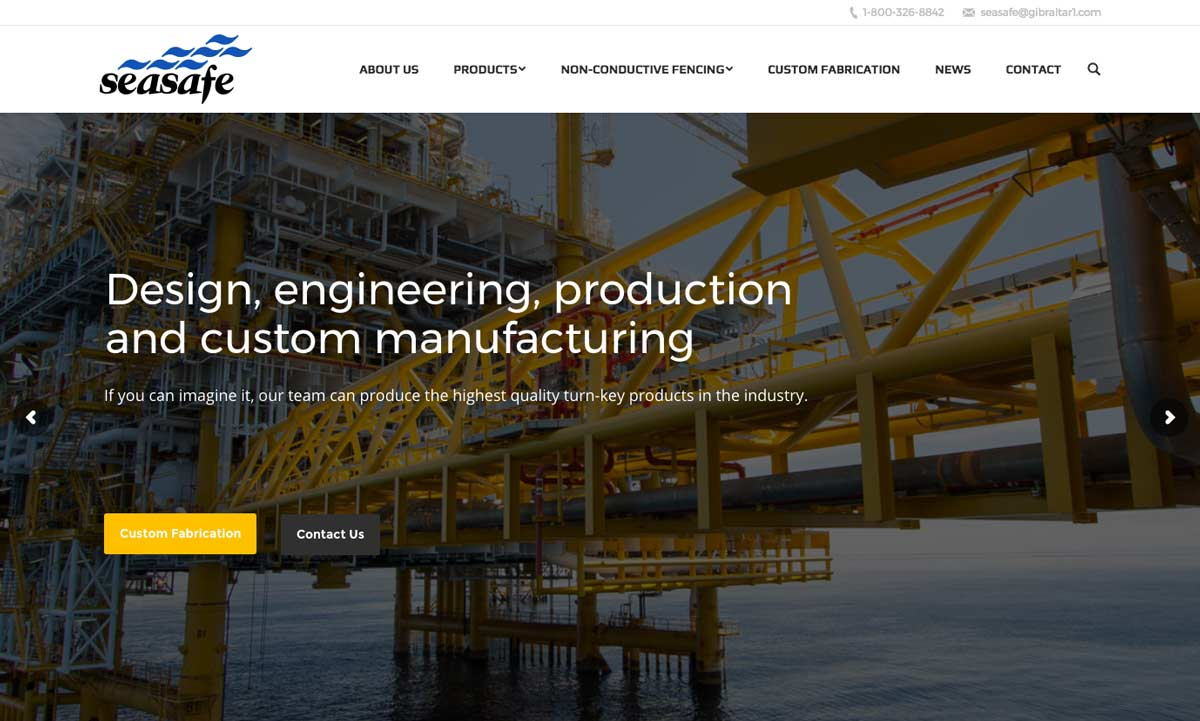 AMICO's Composites Company – SeaSafe Launches New Website