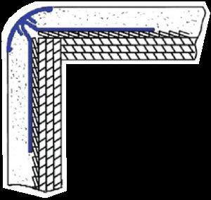 bullnose drywall corner caps, vinyl bullnose corner, bullnose corner beads