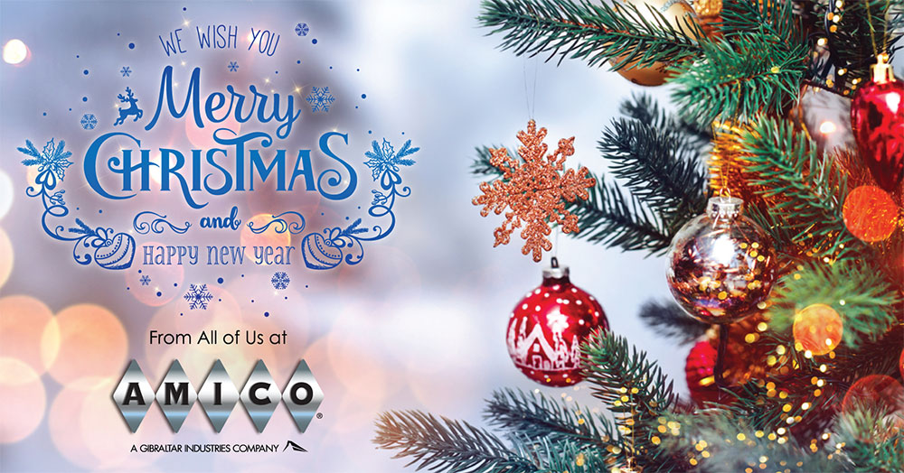 AMICO Happy Holidays and Merry Christmas