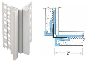 outside corner expansion joint, expansion joints for stucco