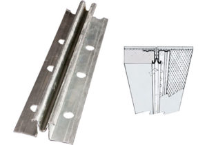 zinc control joint, drywall control joint spacing